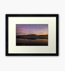 Ben Nevis at twighlight Framed Print