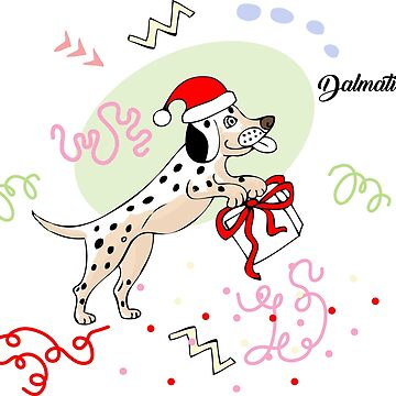 Funny Dalmatian Dog Sketch by piacheva