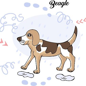 Funny Beagle Dog Sketch by piacheva