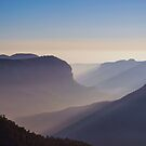 Grose Valley Sunrise, Blue Mountains, NSW, Australia by GeorgeOne