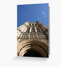 Houses of Parliment Greeting Card