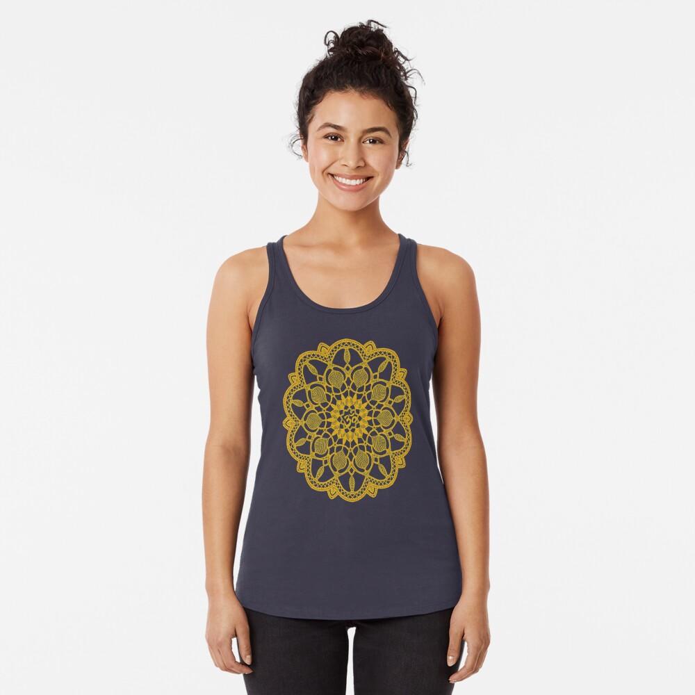 b2b5cf9a1bcb4 Yoga T-Shirt Om Aum Distressed Spiritual Buddhism Meditaion Women's Tank Top