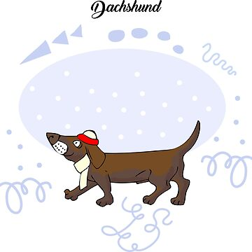 Funny Dachshund Sketch by piacheva