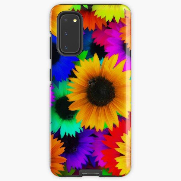 Sonnenblume-Power Samsung Galaxy Robuste Hülle