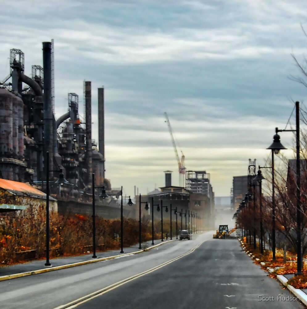 Bethlehem Steel   ..Hope Is Rising at the End of the Road by Scott  Hudson