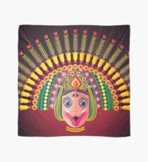 Colorful dance mask- Chhau folk dance Scarf