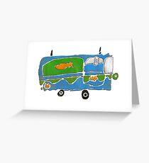 mystery machine Greeting Card