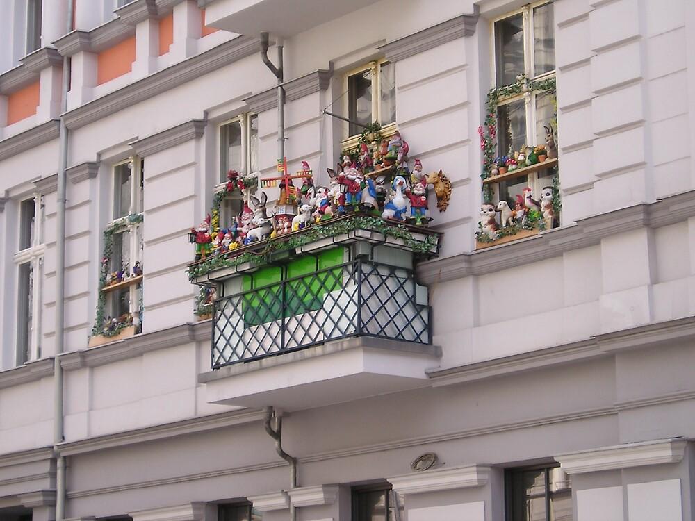 Berlin - Prenzlauerberg - What a balcony! by presbi