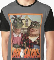 Dinosaur Farmers Graphic T-Shirt