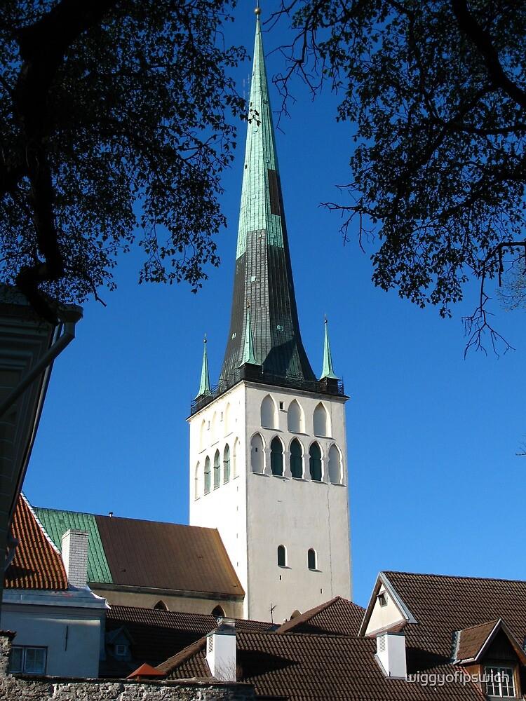 St Olaf's Church, Tallinn by wiggyofipswich