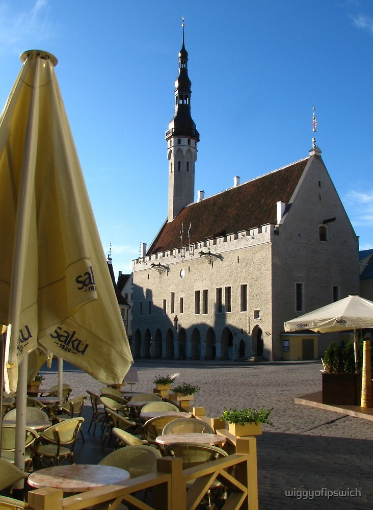The Town Hall, Tallinn by wiggyofipswich