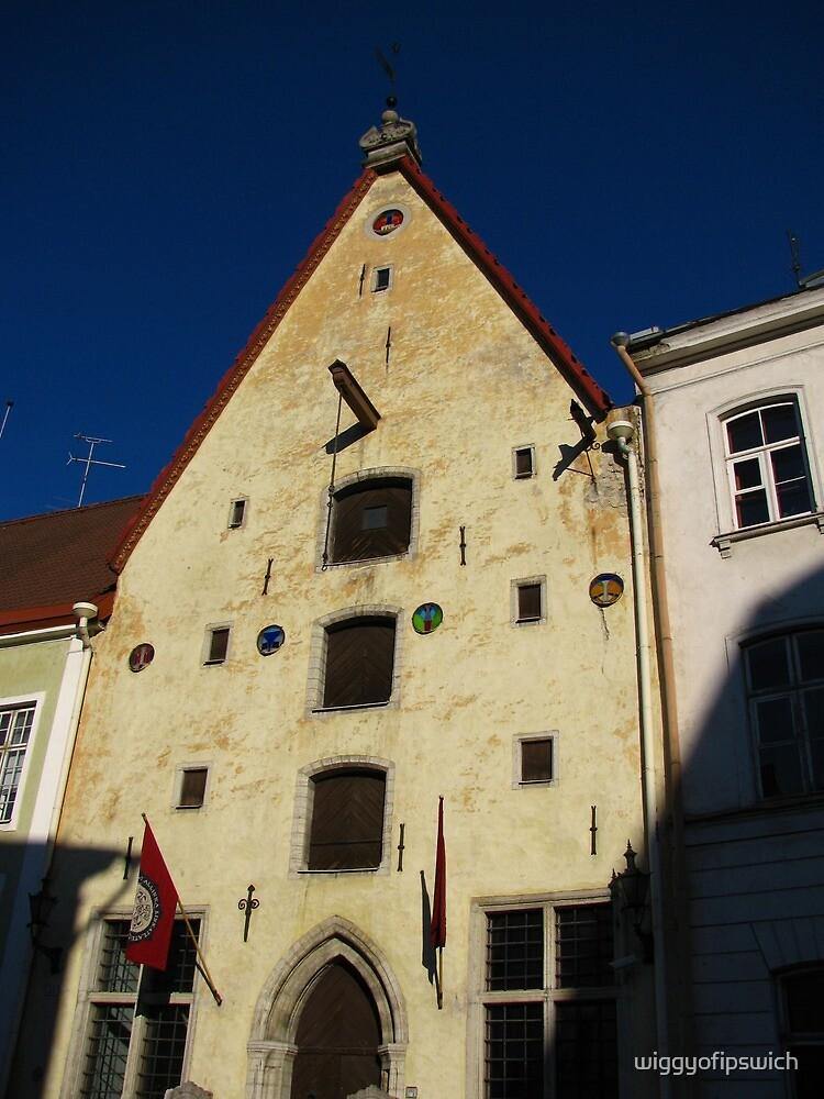 Medieval House, Tallinn by wiggyofipswich
