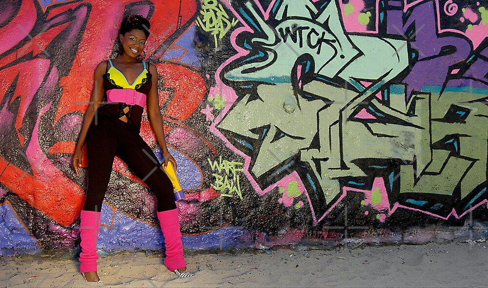 Graffiti and Beauty by Clayton Bruster