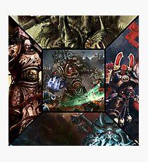 Warhammer - Chaos Photographic Print