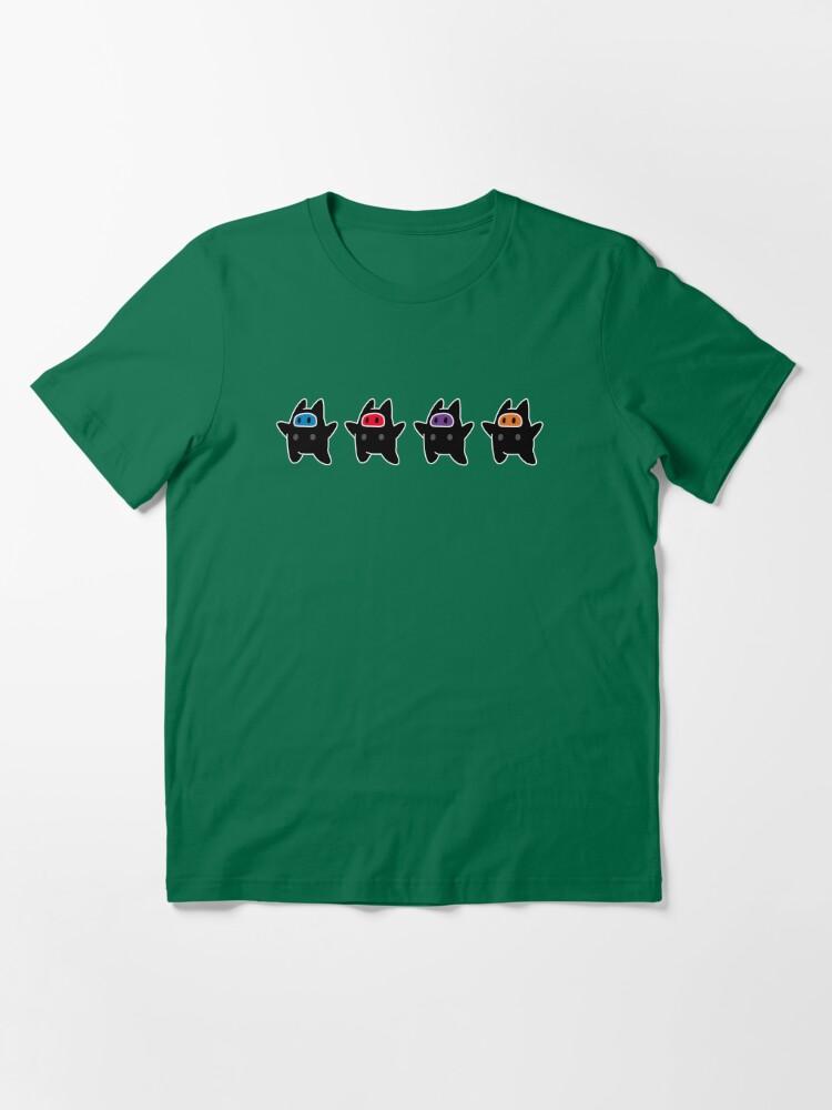 Alternate view of Ninji Turtles Essential T-Shirt