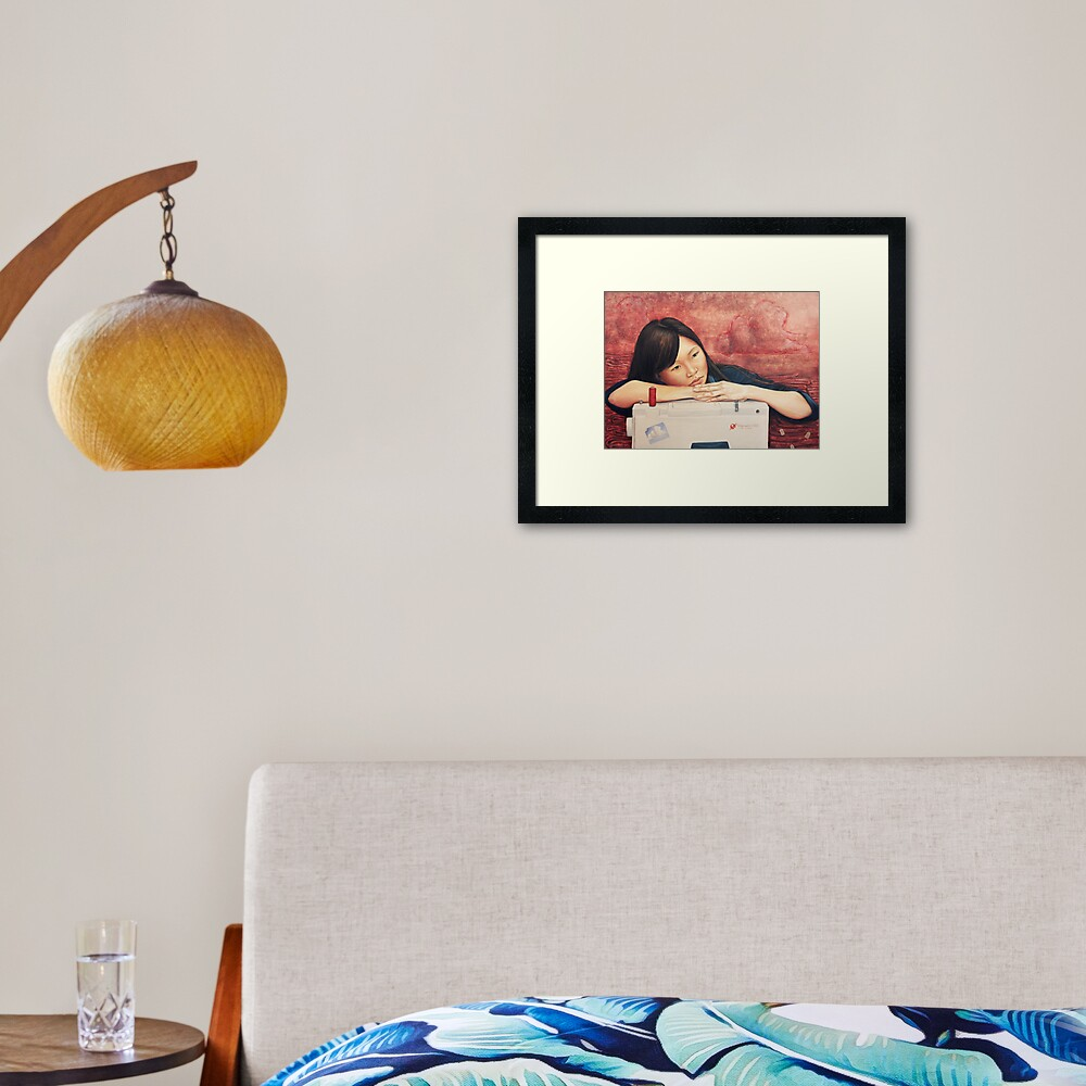 Made in China Framed Art Print