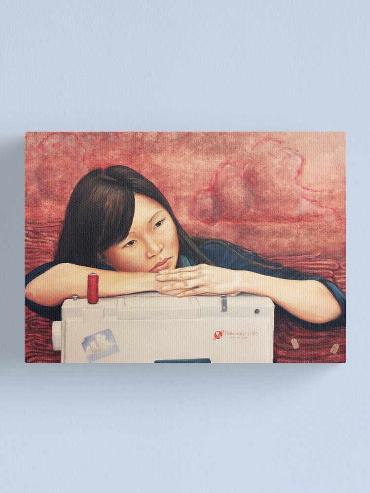 Alternate view of Made in China Canvas Print