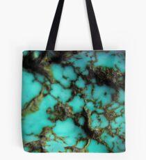 Turquoise gemstone Tote Bag