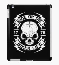 BIKER - RIDE OR DIE -  iPad Case/Skin