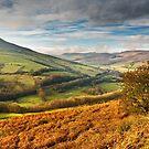 Lose Hill & Edale Valley, Peak District by Steve  Liptrot
