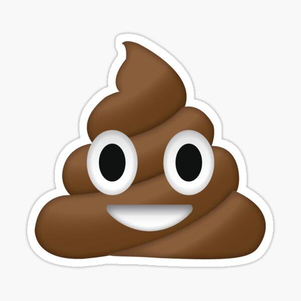 Emoji de merde de chien Sticker