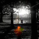 Shadow Swinging II by RockyWalley