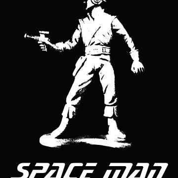 Space Man! by SynthOverlord