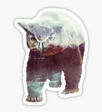 Owlbear Sticker