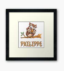 Philippe Owl Framed Print