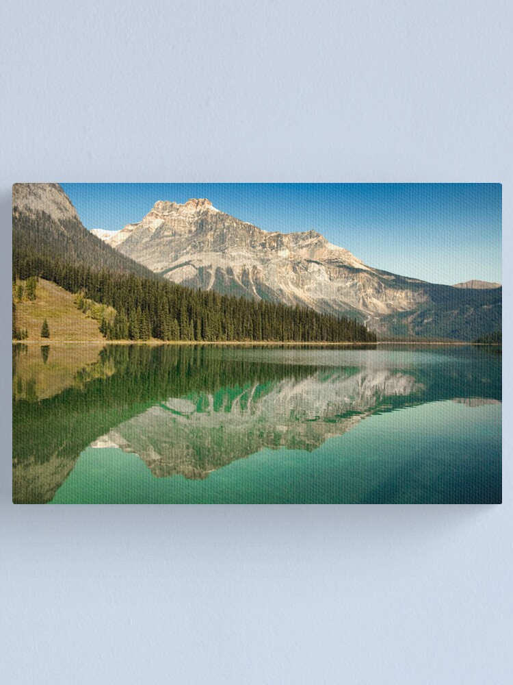 Alternate view of Emerald Lake Canvas Print