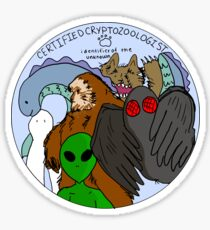 cryptids Sticker