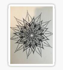 Beautiful Circular Mandala Sticker