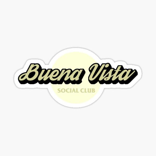 BUENA VISTA SOCIAL CLUB VINTAGE LOGO Sticker