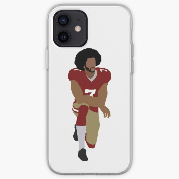 Colin Kaepernick Kneeling iPhone Soft Case