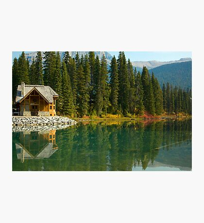 Emerald Lake Lodge Photographic Print