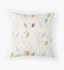 Keziah - Day x Scandinavian geometric pattern Throw Pillow