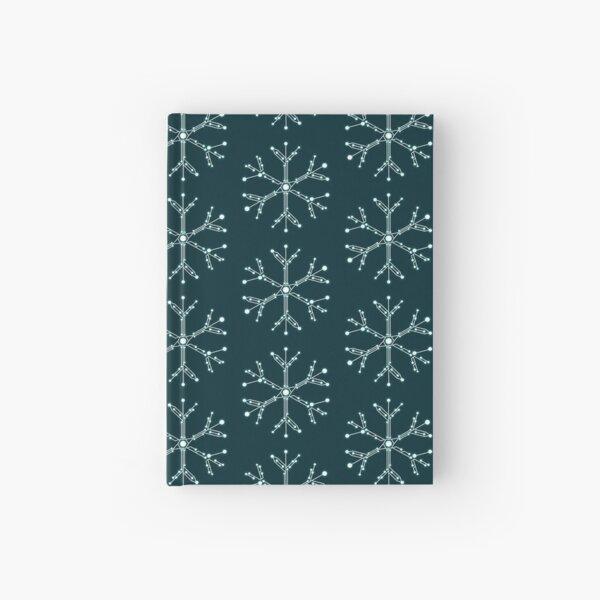 Circuit Board Snowflake Hardcover Journal