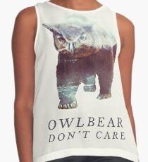 Owlbear Don't Care Sleeveless Top