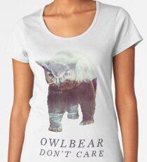 Owlbear Don't Care Women's Premium T-Shirt