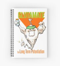 Glutamate! - for Long Term Potentiation Spiral Notebook