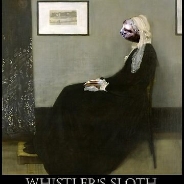 Whistler's Sloth - Lost Art by TARDISRepairman