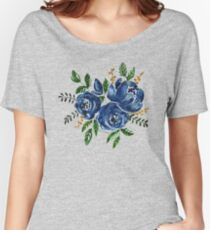 Blue Roses Women's Relaxed Fit T-Shirt