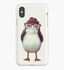 Hipster Porg iPhone Case/Skin