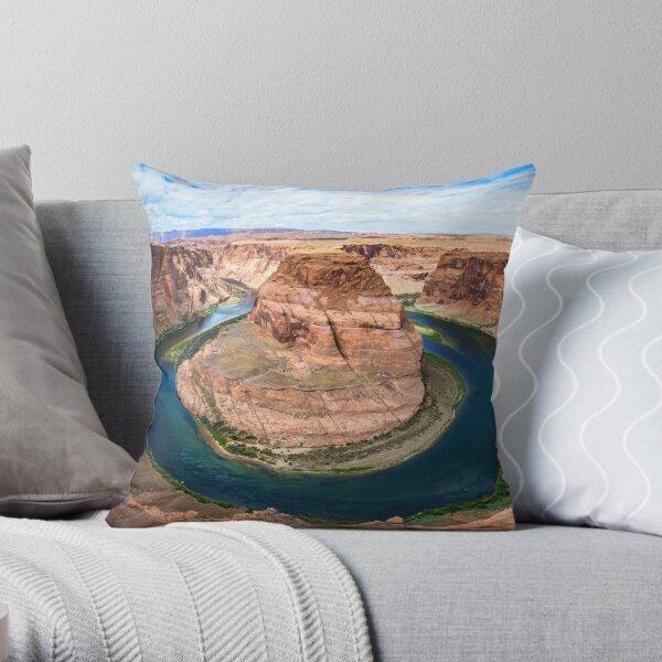 Horseshoe Bend Throw Pillow