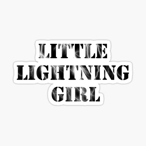 Little Lightning Girl   Red Queen Sticker