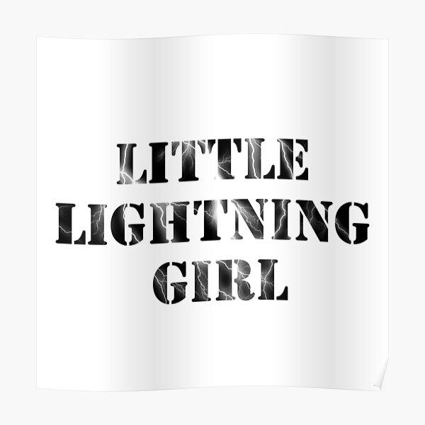 Little Lightning Girl   Red Queen Poster