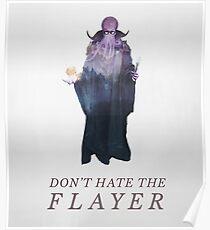 Hasse den Flayer nicht - Illithid / Mind Flayer DnD Poster