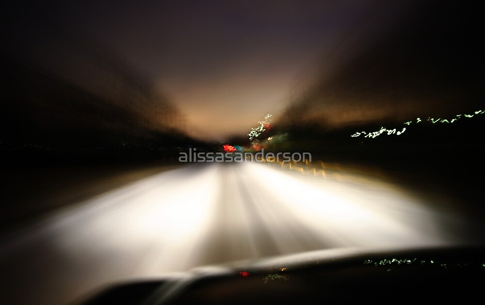 Wintry Commute by alissasanderson