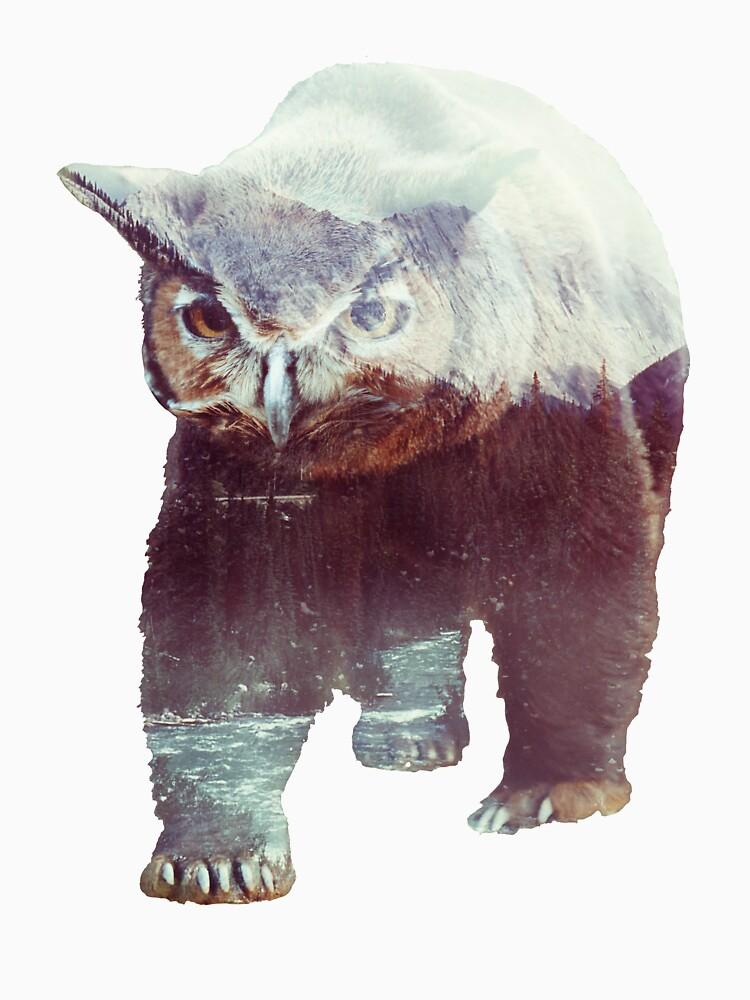 Owlbear by andywynn