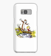 Calvin and Hobbes Stream Samsung Galaxy Case/Skin